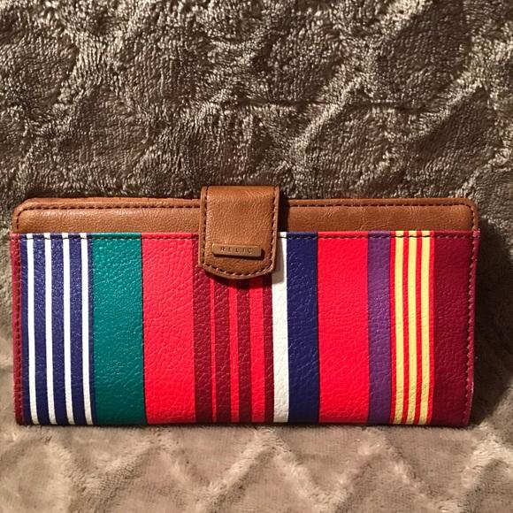 Relic Handbags - Relic Multi Color RFID Wallet